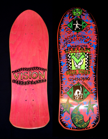 © 1988 Vision Ouija Board Team Deck