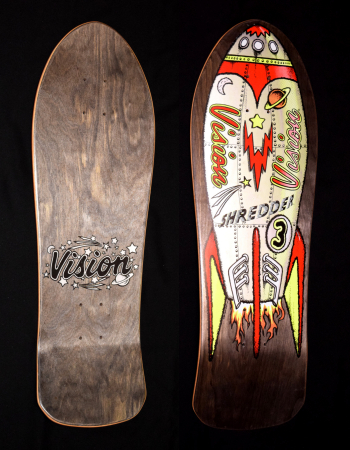 © 1988 Vision Shredder 3 Team Deck